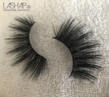 LASHAP eyelashes for buiding  Criss-cross Natural Soft Fake lashes Length 25mm thick High quality diamond box