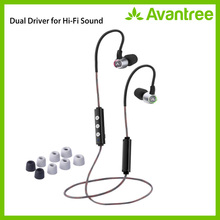 Avantree Hi-Fi Dual Driver Bluetooth In-ear Earbuds with Mic and Adjustable Ear Hook Wireless Noise-Isolating headphones - AS20L 100pcs lot tda2030a 18w hi fi amplifier and 35w driver