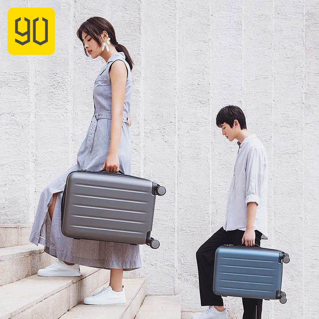 90FUN 1A 20/26inch PC Suitcase Carry on Spinner Wheels Rolling Luggage TSA lock Business Travel Vacation for Women men