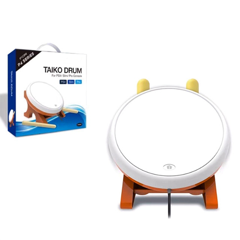 Mini Taiko No Tatsujin Master Drum Controller Traditional Instrument For Sony PS4 Slim Pro