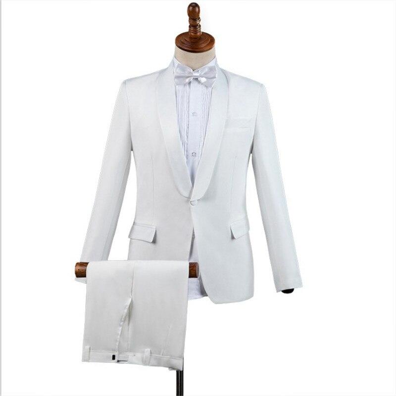 Brand Men Suit 2019 Wedding Suits Mens Shawl Collar 3pcs Slim Burgundy Suit Mens Royal Blue Tuxedo Jacket Men