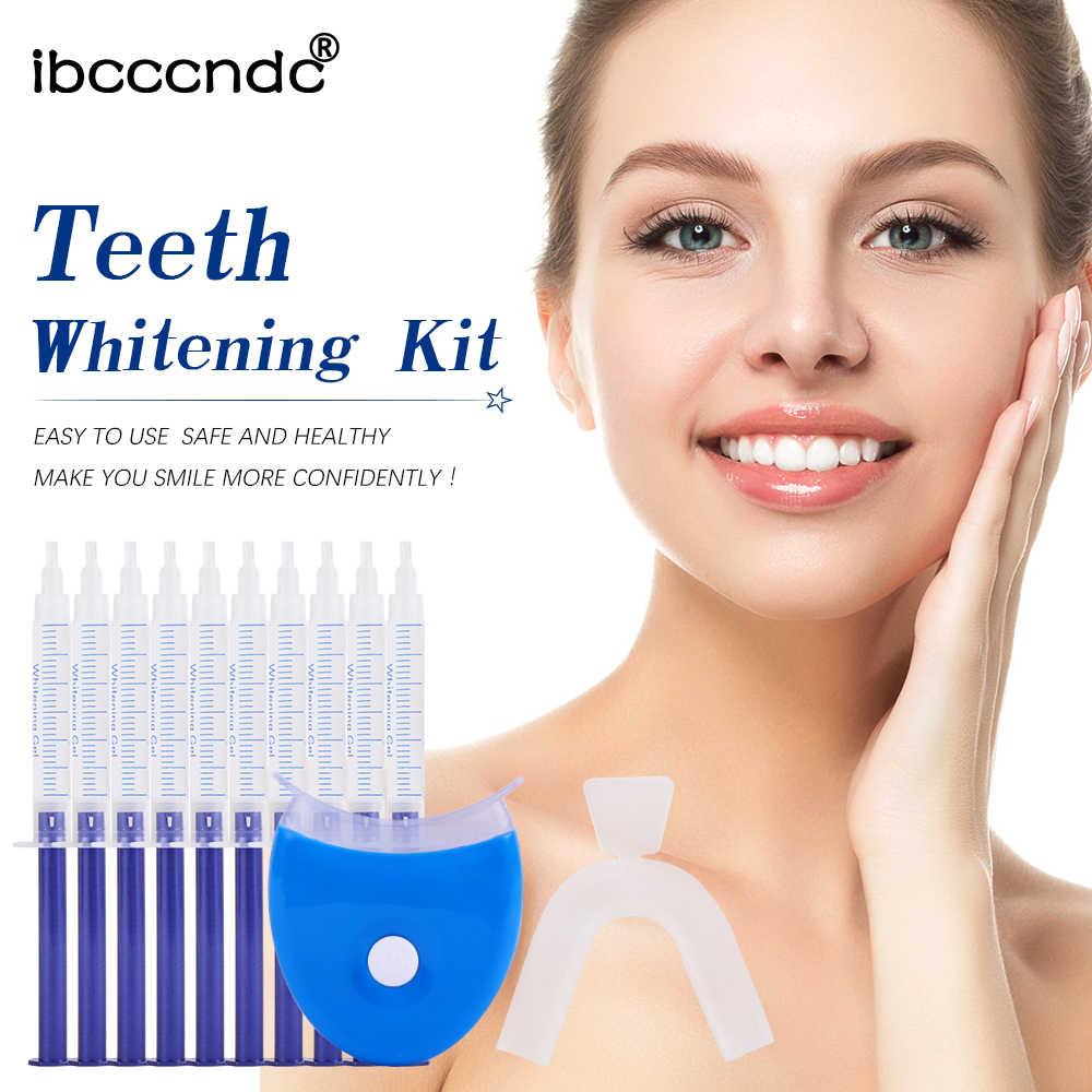Отбеливатель зубов 44% система для отбеливания зубов Оральный гель набор отбеливатель зубов Стоматологическое оборудование холодный свет красота зубов