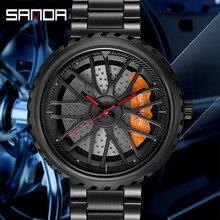 Креативные наручные часы Rim Hub, мужские водонепроницаемые военные армейские часы из нержавеющей стали, мужские часы, лучший бренд, роскошные мужские спортивные часы