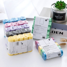 Large Capacity Trash Bags Durable Color Kitchen Bathroom Household 5 Rolls Cleaning Tools Practical Sealing Bag