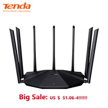 Tenda AC23 AC2100M Wireless WiFi Router Support IPV6 Home Coverage Dual Band Wireless Router,App Control,VPN setup(China)