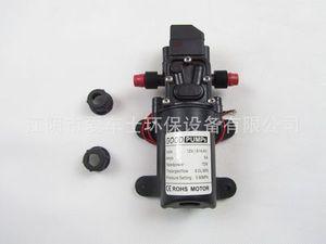 Image 5 - Bomba de agua de alta presión CC, 12V, 130PSI, 6l/Min, bomba autocebante, interruptor automático, 72W