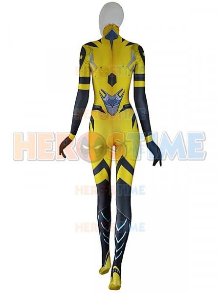 B.VA Cosplay Costume Adults Kids D.va BVA Plugsuit Superhero Halloween Bodysuit Zentai Second Skin Suit 3