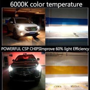 Image 5 - PANDUK CSP 16000LM araba far H4 H7 LED H1 H3 H8 H9 H11 LED 3000K 6000K 8000K 9005 9006 HB3 HB4 880 LED ampul sis araba lambası