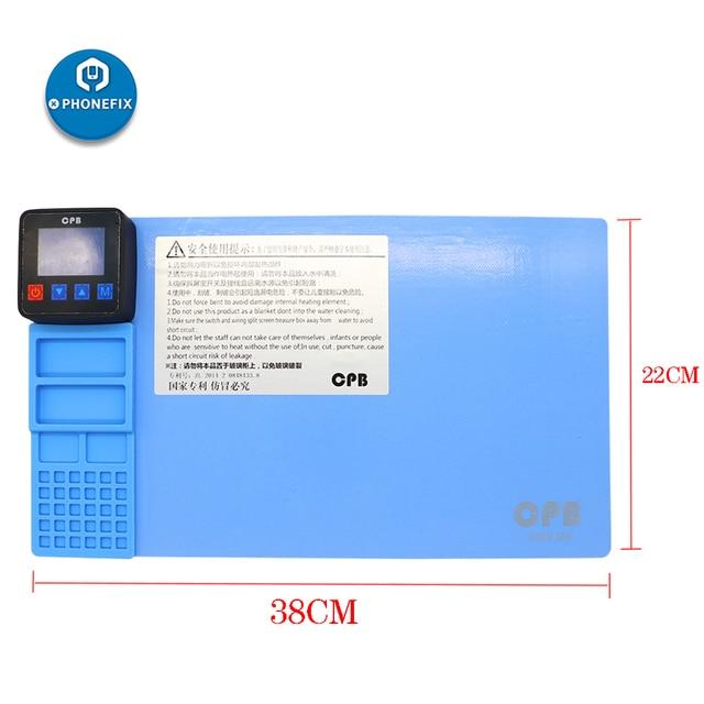CPB LCD ekran ayırıcı açılış seti makinesi iPhone tamir için ekran onarım kiti için Samsung onarım telefon ekran açılış araçları