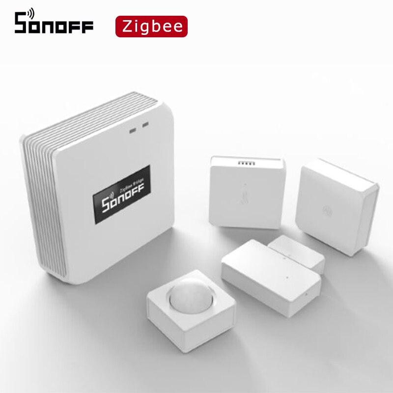 SONOFF Zigbee Bridge / SNZB 01 / SNZB 02 / SNZB 03 / SNZB 04 устройство Zigbee умный дом совместим с Alexa Amazon Google Home|Смарт-гаджеты|   | АлиЭкспресс