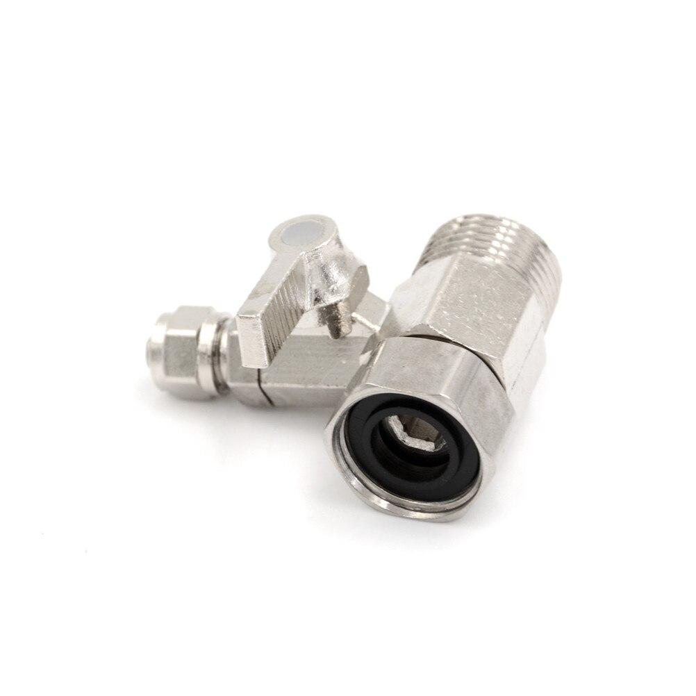 ZLinKJ High Quality 1PCS Water Filter Purifier Adapter 1/2'' To 1/4