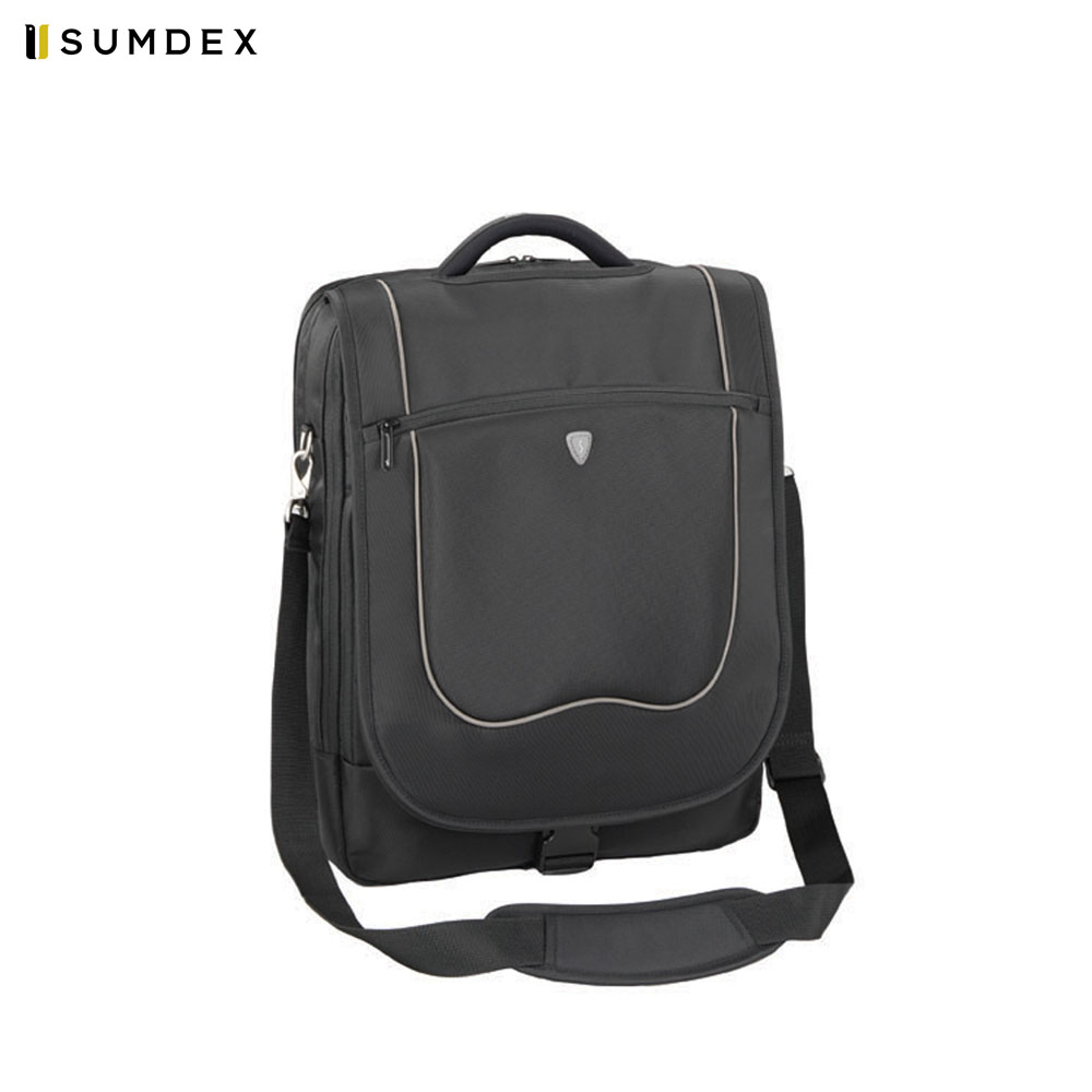 Фото - Laptop Bags & Cases Sumdex SUMPON437BK for laptop portfolio Accessories Computer Office for male female 2017 hot handbag women casual tote bag female large shoulder messenger bags high quality pu leather handbag with fur ball bolsa