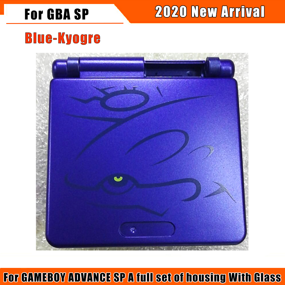 2020 NEW Limited Edition Full Housing Shell Replacement for Nintendo Gameboy Advance SP for GBA SP Game Console Cover Case Acces(China)