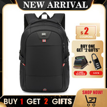 Large Multifunction USB Charging Men 17 15inch Laptop Backpacks For Teenager Fashion Male Mochila Travel Backpack Anti Thief