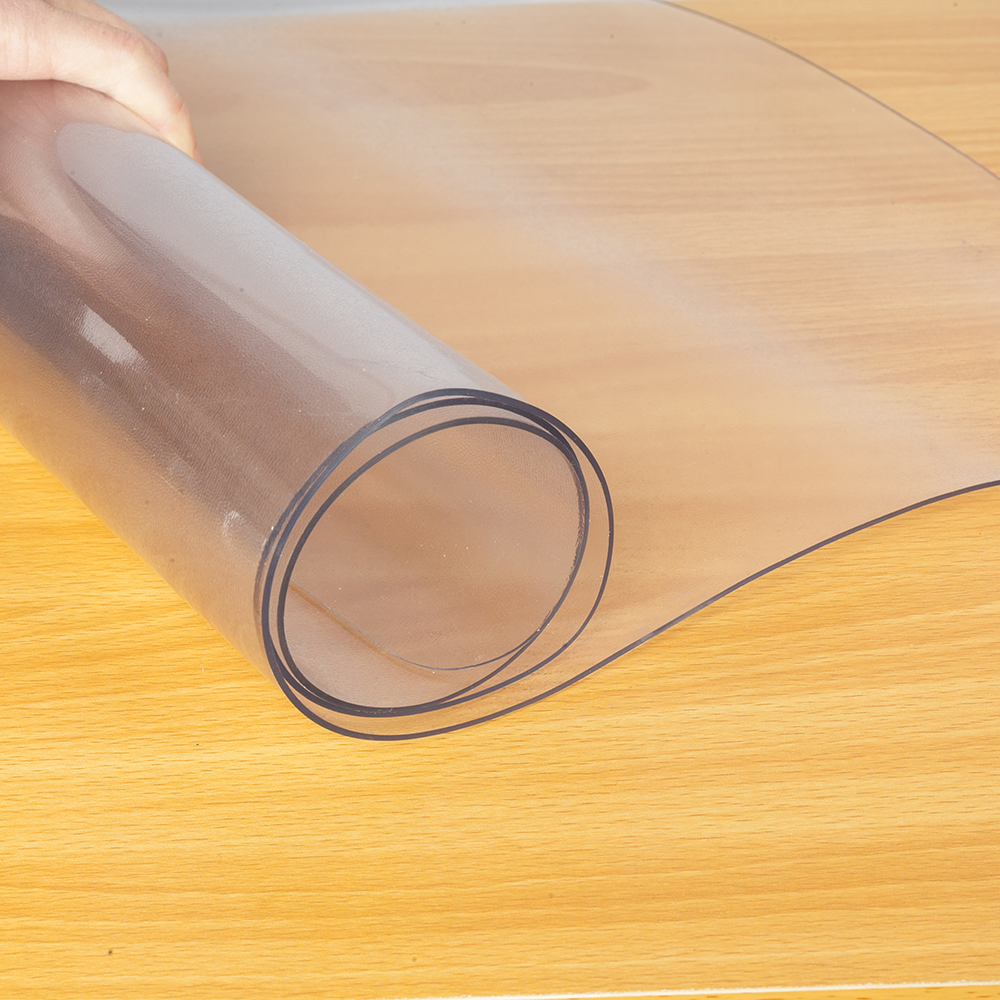 PVC transparent Floor protection mat non-slip waterproof Yoga mat Office chair coffee table Furniture Anti-scratch carpet