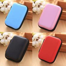 Earphone Holder Case Storage Carrying Hard Bag Box Case For Earphone USB Card Accessories Memory Headphone Cable Earbuds W7S1