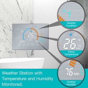 Image 2 - WiFi Thermostat Programmable Temperature Controller Underfloor Water/Gas Boiler Weather Station Tuya Smart Alexa Voice Control