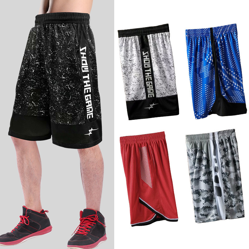 Loose Big Plus Size XL-4XL New Professional Basketballer Shorts Jerseys 2020 Men Short Trousers Runningg For Shorts Men