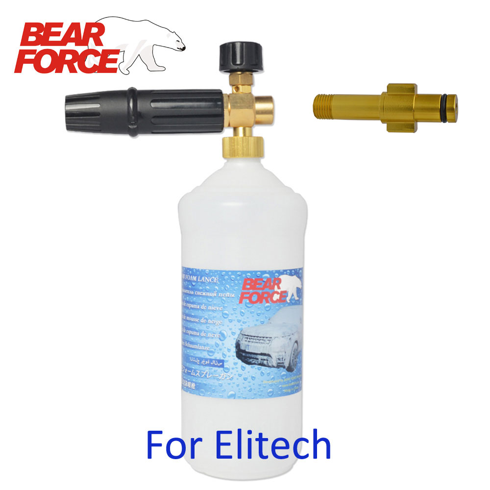Foam Nozzle Gun Cannon/ Car Wash Shampoo Soap Sprayer/ Snow Foam Lance/ Foam Generator For Elitech High Pressure Washer