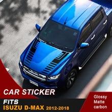 Autocollants de voiture cool en vinyle pour isuzu d-max de 2012 à 2018, un ensemble comprenant des graphiques gauche et droit adaptés aux modèles isuzu d-max