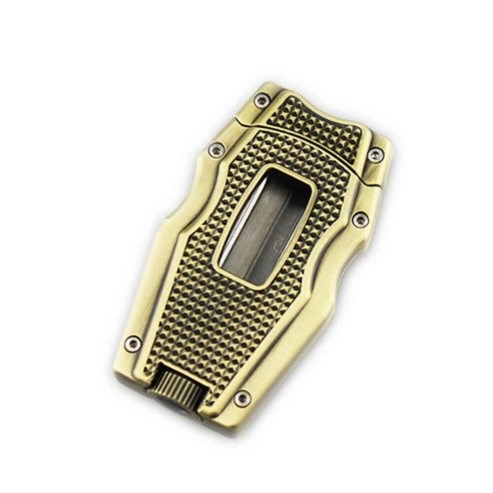 シガーカッターvカットステンレス鋼ギロチンゴールドカット 62 リングゲージシガーパンチで