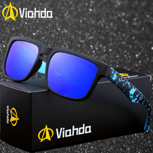 VIAHDA Polarized Sunglasses Mens Cool Vintage Brand Design Male Polaroid lenses Goggles Shades Oculos Masculino
