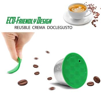 1/2/3PCS נירוסטה לשימוש חוזר דולצ 'ה גוסטו כמוסה תואם נסקפה קפה מכונת Refillable Dolci גוסטו כמוסה מסנני
