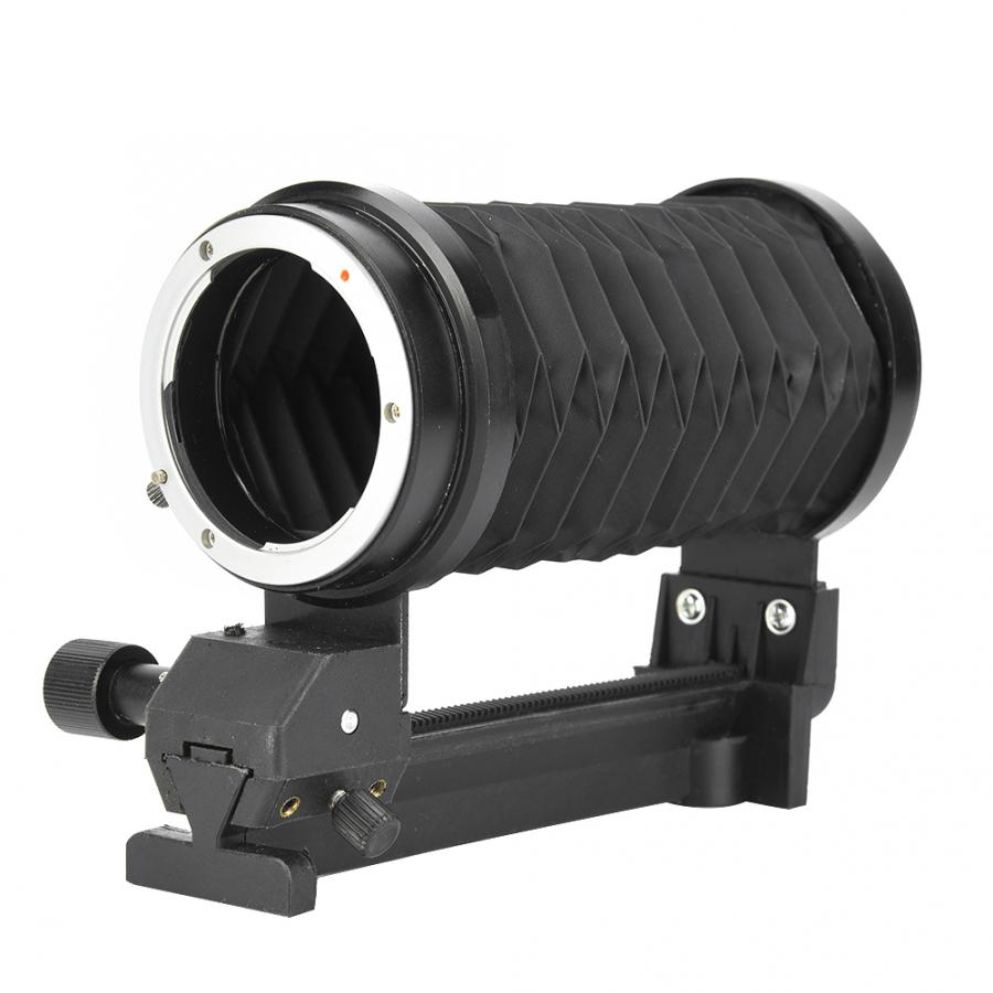 Macro Focus Extension Bellows with Single Rail Slider Mount for Sony NEX