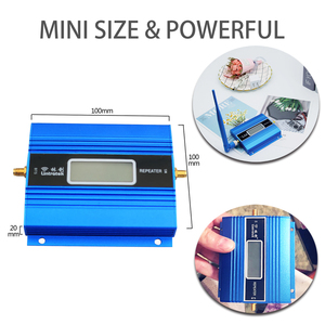 Image 5 - 2G Full Set GSM 900 mhz Mobile Signal Booster LCD Display GSM 900 better call Cell Phone Cellular Repeater Amplifier+ Antenna