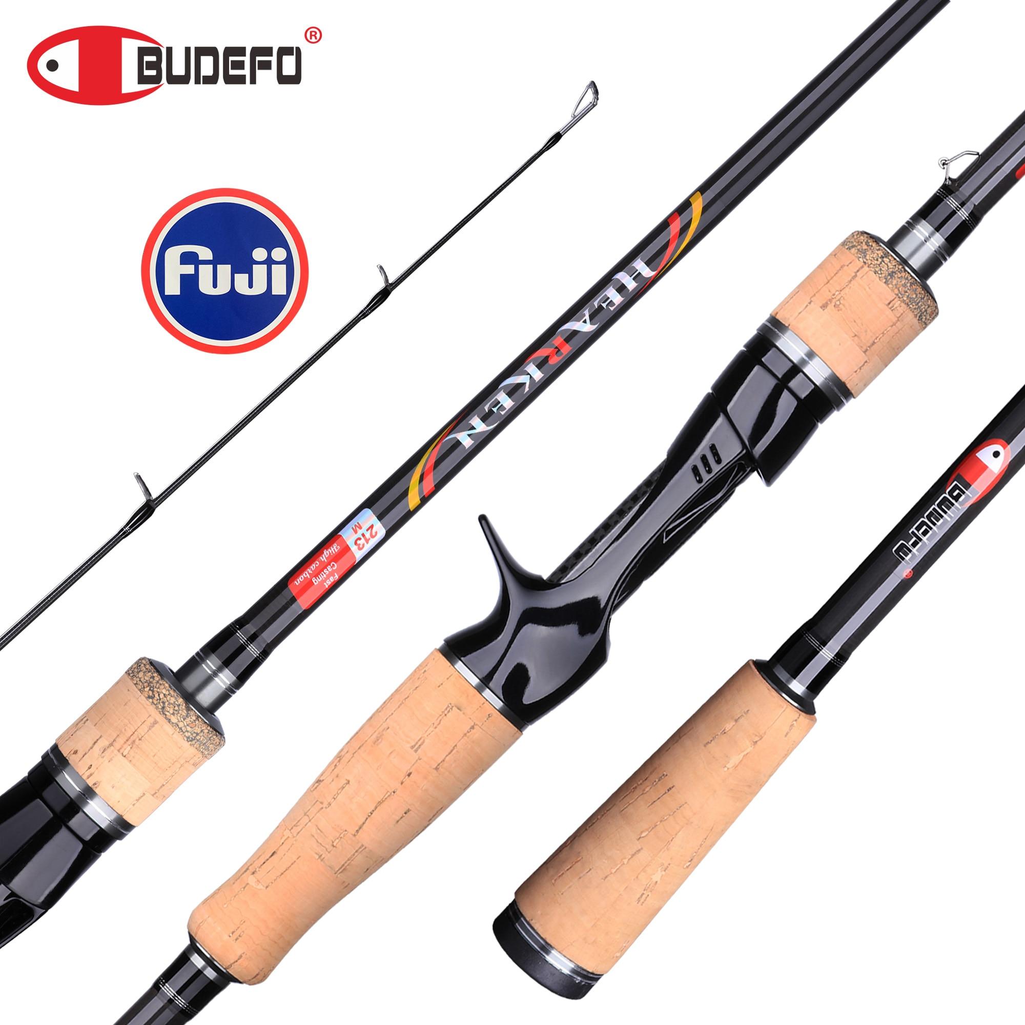 Spinning/Casting Fishing Rod BUDEFO HEARKEN 1