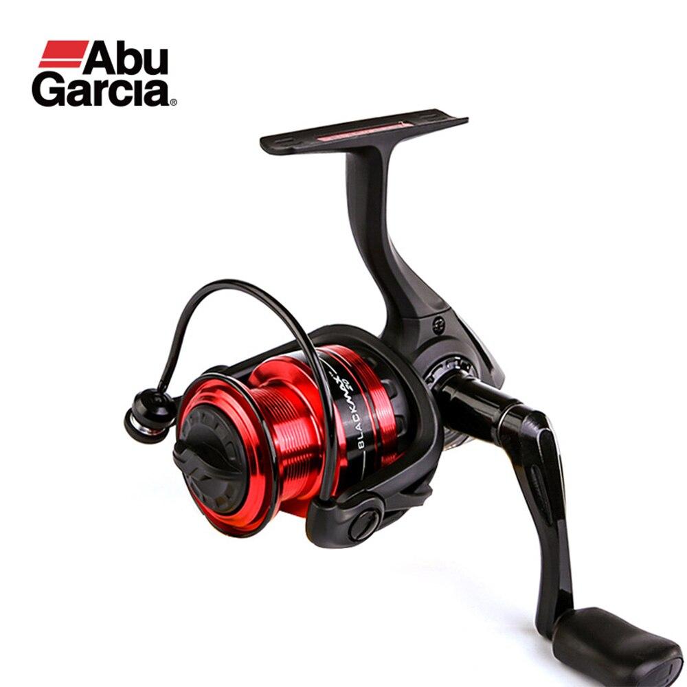 Original ABU GARCIA BLACK MAX Spinning Fishing Reel 1000-6000 3+1BB Graphite Body Saltewater Fishing Reel Fishing Coil