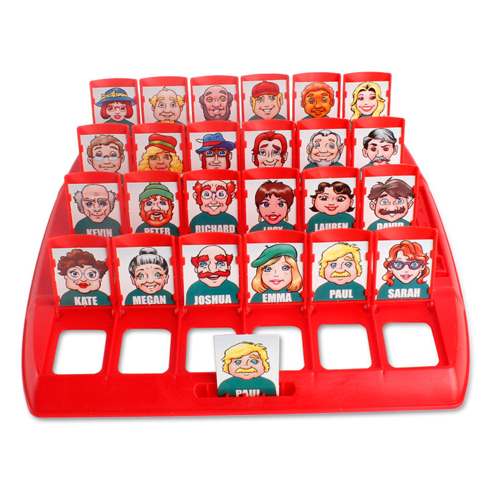 Funny Family Guessing Games Kids Toys Who Is It Classic Board Game Interactive Toys For Children Party Play Birthday Gift 2