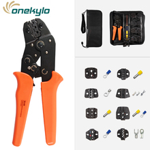 Crimping pliers for terminals crimp hand tools Suitable for all kinds of insulated and non-insulated/D-SUB/px2.54 terminals стоимость