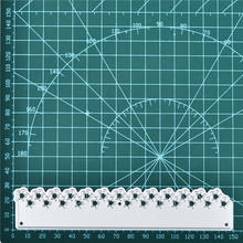 YaMinSanNiO Star Border Metal Cutting Dies Scrapbooking Album Die Cut Frame Card Making Embossing Stencil Lace