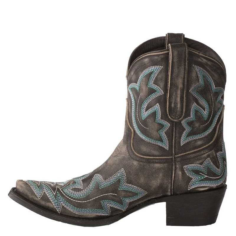 Bordado botas mujer couro falso cowboy tornozelo botas para mulher cunha botas de salto alto cobra impressão ocidental cowgirl botas 2020