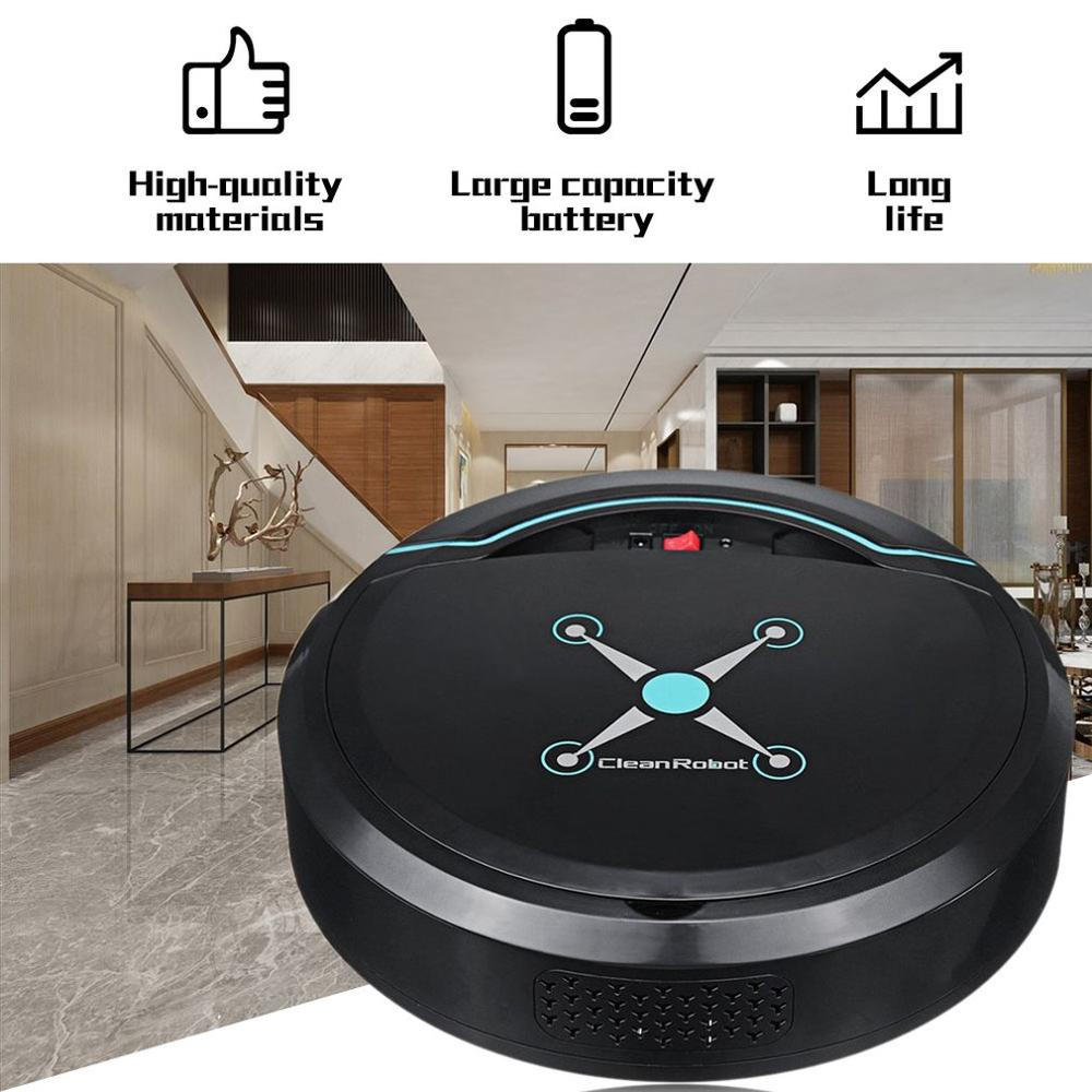 Home Intelligent Sweeping Robot App Remote Control Wireless Vacuum Cleaner Smart Wiping Machine Automatic Refill Floor Cleaner