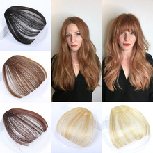 Jewelry Bangs Wig Neat Front Synthetic Women High-Temperature-Fiber Multiple-Colors Female