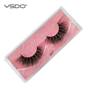 Image 3 - YSDO Ciglia 20/30/40/50/100 PCS Ciglia di Visone Allingrosso Natural False Eyelashes Extensions Trucco 3D Visone ciglia In Massa Cilios