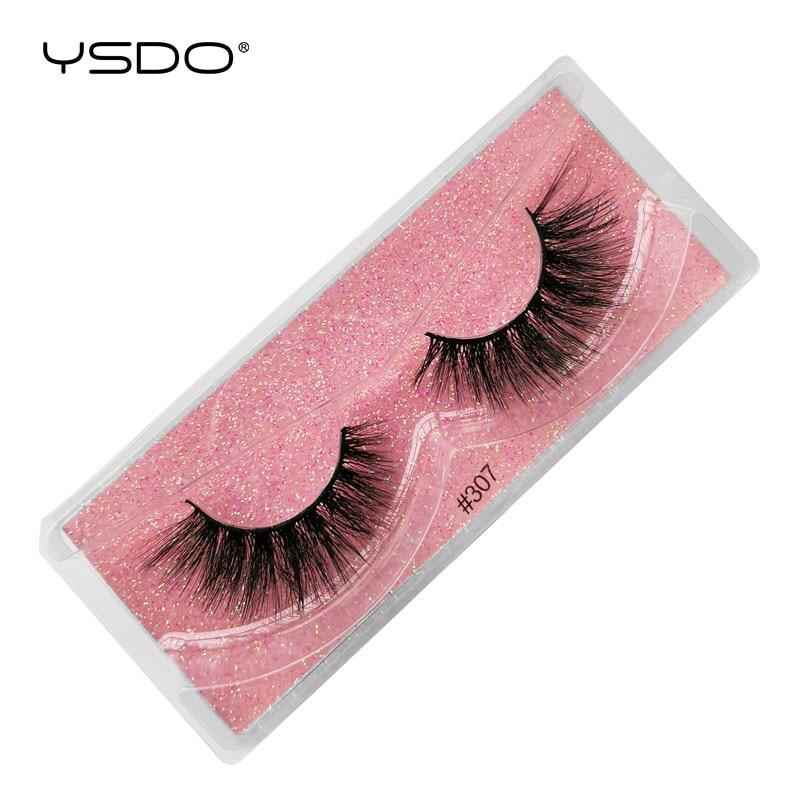 Image 3 - YSDO Lashes 20/30/40/50/100 PCS Mink Eyelashes Wholesale Natural False Eyelashes Extensions Makeup 3D Mink Lashes In Bulk CiliosFalse Eyelashes   -