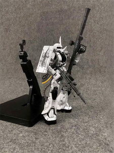 Image 4 - COMIC CLUB IN STOCK MS metal soldier MB 1/100 metal build gundam white wolf zaku II alloy robot high quality action figure