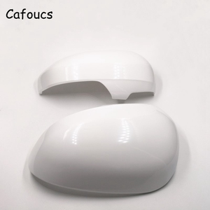 Image 5 - Cafoucs For Toyota Reiz Prius 2010 2011 2012 Car Rear View Mirror Cover Decoration Accessories