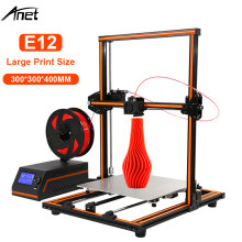 2019 Anet E12 E16 Eagle Serial 3D Printer dengan 300*300*400 Mm Besar Ukuran Cetak Impressora 3D printer Baru Arrial(China)