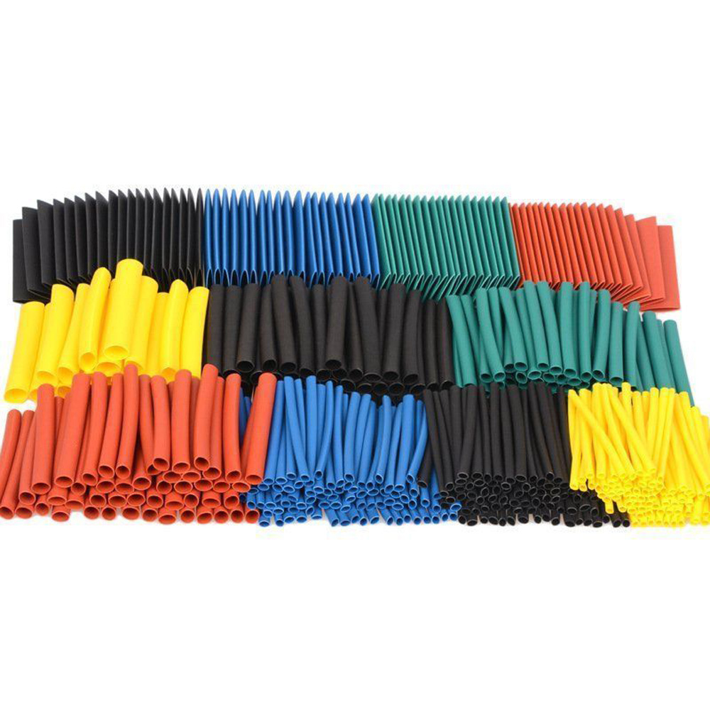 530x Heat Shrink Tubing Tube Sleeve For Car Assorted Electrical Cable Wire Wrap