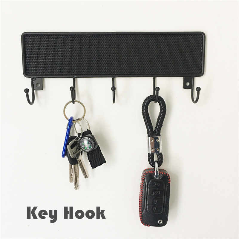 Hook Wall Hanger Mounted Hooks Key Holder For Door Coat Clothes Hanging Home Organizer Keys Rack With Screws Decorative Crochet Hooks Rails Aliexpress