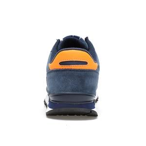 Image 3 - Valstone Mannen Lente Sneakers Echt Lederen Zomer Mocassin Waterdichte Rubberen Antislip Schoenen Comfortabele Lopen Schoenen Grijs Blauw