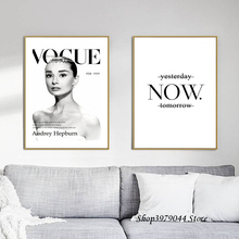 Audrey Hepburn Art Canvas Painting Nordic Poster Wall Pictures For Living Room Cuadros Quadro Photo Decorative Picture Unframed