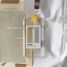 La mejor funda de teléfono transparente para ventana de arte es adecuada para iPhone 11 12Pro Max mini X XR XSMax 87PluS, cubierta trasera protectora anticaída