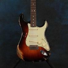 Электрическая гитара цветная реликсовая sunburst высококачественные