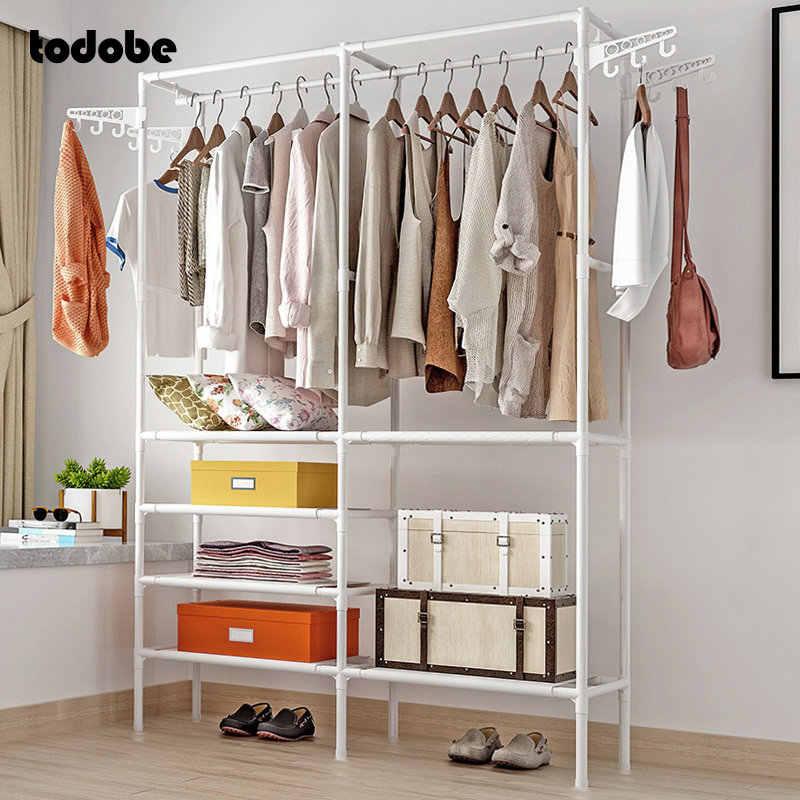 simple square coat rack reinforced