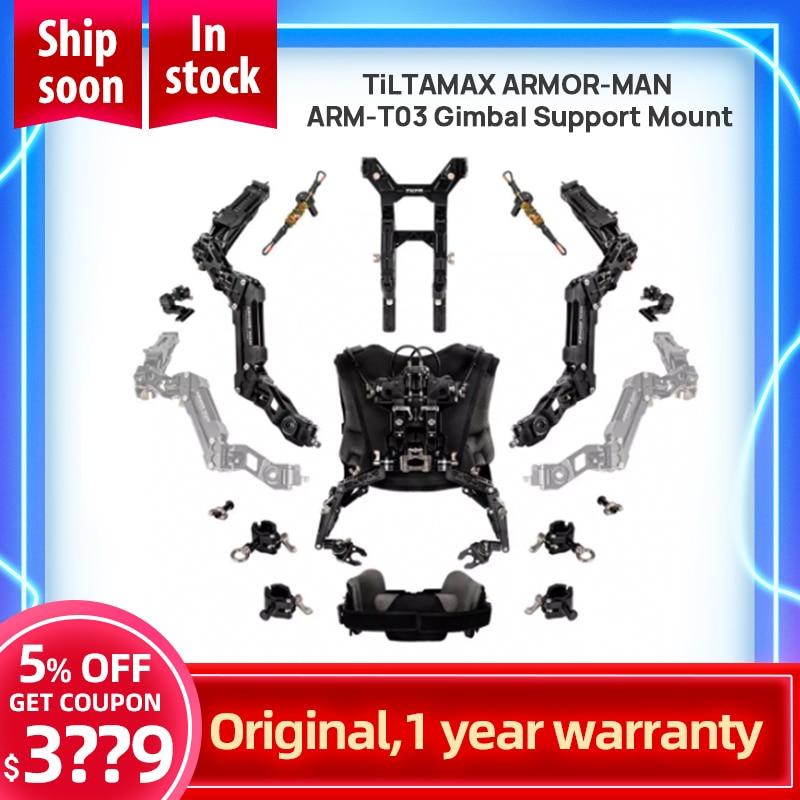 TiLTAMAX armate-man 3.0 sistema di supporto cardanico ARM-T03 (ycam (icam 3 assi giunto cardanico stabilizzatore tenere gilet braccio TILTA